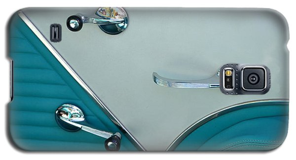 Galaxy S5 Case featuring the photograph 1950's Chevy Interior by Dean Ferreira