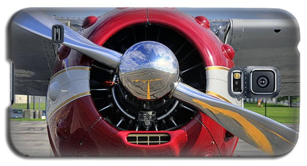 Galaxy S5 Case featuring the photograph 1951 Cessna 195 2 by Dan Myers