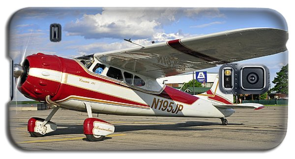 Galaxy S5 Case featuring the photograph 1951 Cessna 195 by Dan Myers