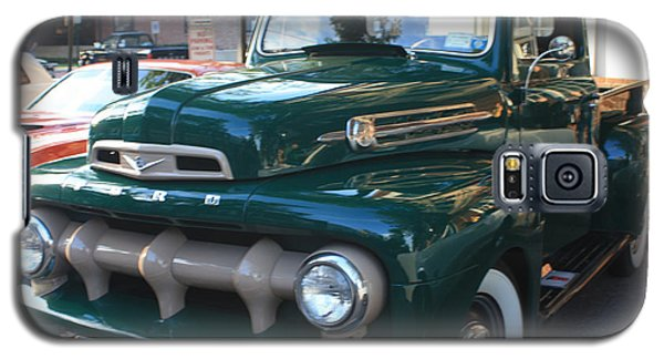 1952  Ford Pick Up Truck Front And Side View Galaxy S5 Case by John Telfer