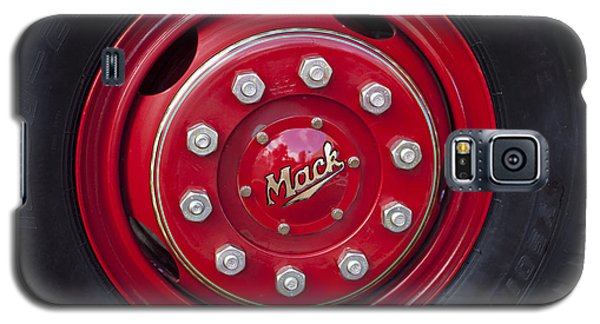 1952 L Model Mack Pumper Fire Truck Wheel Galaxy S5 Case by Jill Reger
