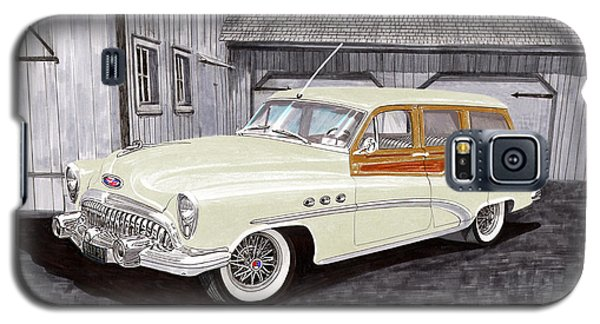 1953 Buick Estate Wagon Woody Galaxy S5 Case