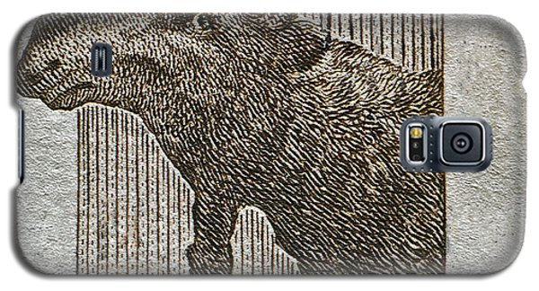 1953 Canada Moose Stamp Galaxy S5 Case