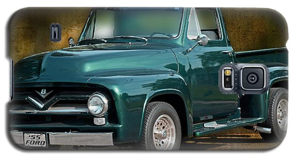 1955 Ford Truck Galaxy S5 Case