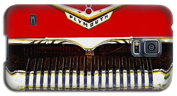 Galaxy S5 Case featuring the photograph 1955 Plymouth P27 Convertible by Trey Foerster