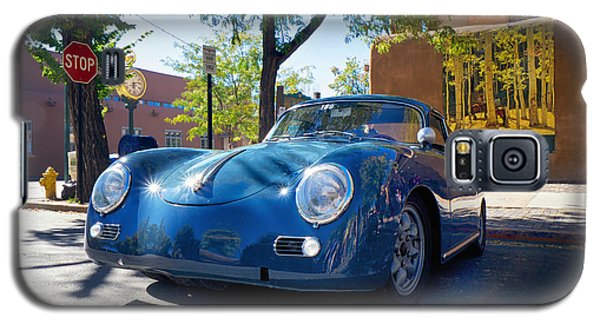 1956 356 A Sunroof Coupe Porsche Galaxy S5 Case by Mary Lee Dereske