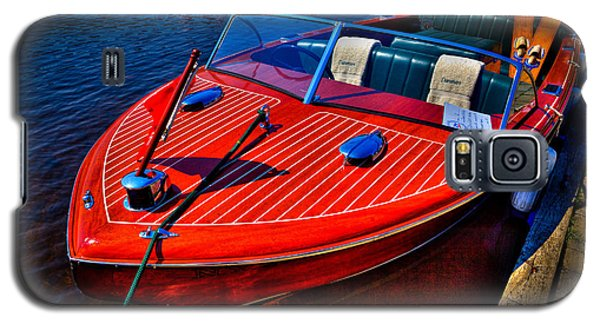 1956 Chris-craft Capri Classic Runabout Galaxy S5 Case