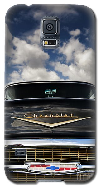 1957 Black Chevrolet Bel Air  Galaxy S5 Case