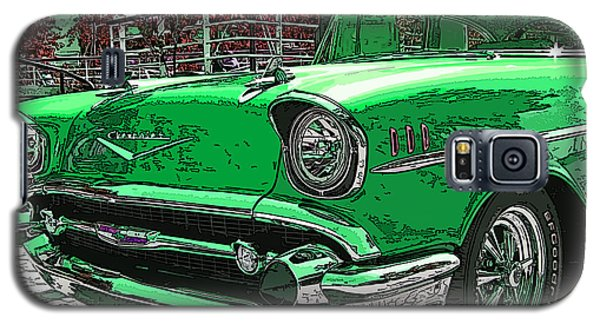 1957 Chevrolet Bel Air Galaxy S5 Case