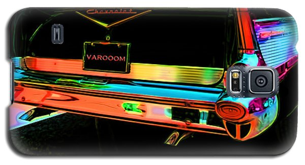 1957 Chevy Art Red Varooom Galaxy S5 Case