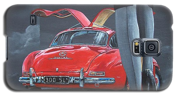 1957 Mercedes Benz 300 Sl Gullwing Coupe Galaxy S5 Case