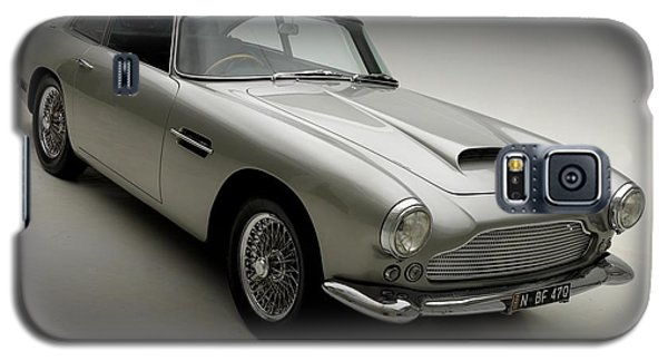 Galaxy S5 Case featuring the photograph 1958 Aston Martin Db4 by Gianfranco Weiss