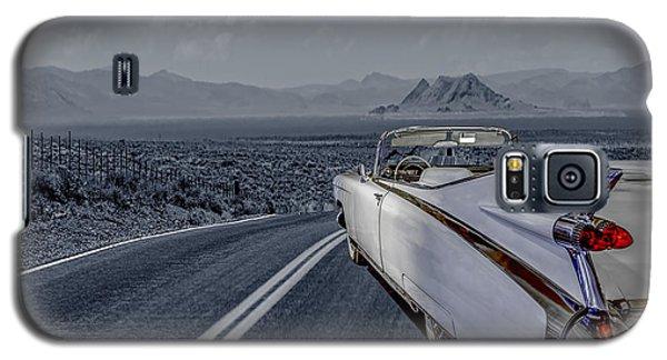 1959 Cadillac Eldorado Cool Night Galaxy S5 Case by LeeAnn McLaneGoetz McLaneGoetzStudioLLCcom