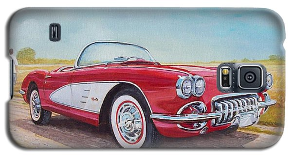 1959 Chevrolet Corvette Cabriolet Galaxy S5 Case