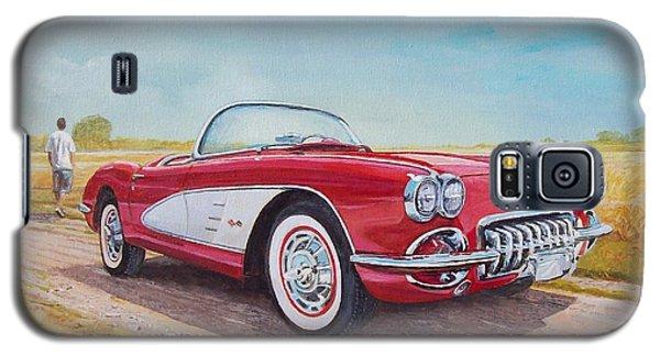 1959 Chevrolet Corvette Cabriolet Galaxy S5 Case