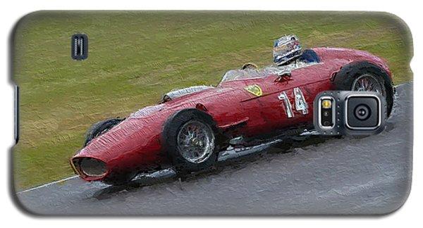 1960 Ferrari Dino Racing Car Galaxy S5 Case by John Colley