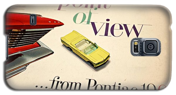 1960 Pontiac Matchbox Cover Car Galaxy S5 Case