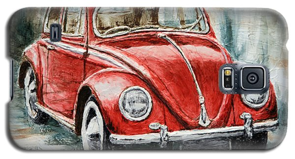 1960 Volkswagen Beetle 2 Galaxy S5 Case by Joey Agbayani