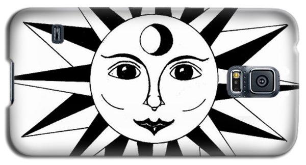 1960's Sun Figure Galaxy S5 Case by Michael Dohnalek