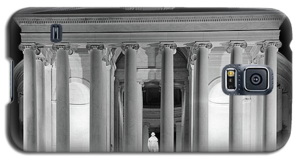 1960s Thomas Jefferson Memorial Lit Galaxy S5 Case