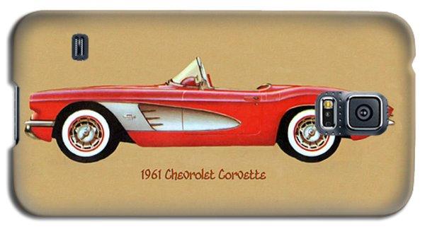 1961 Chevrolet Corvette Galaxy S5 Case