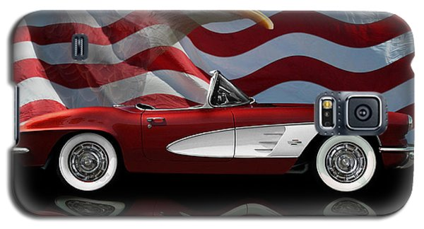 1961 Corvette Tribute Galaxy S5 Case