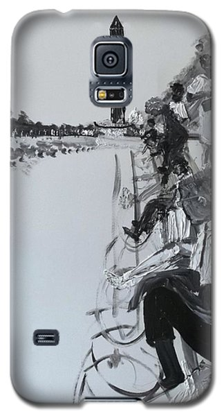 1963 D.c. Monument And Reflecting Pond Galaxy S5 Case