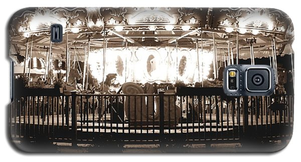1964 Allan Herschell Carousel Galaxy S5 Case by Debra Forand