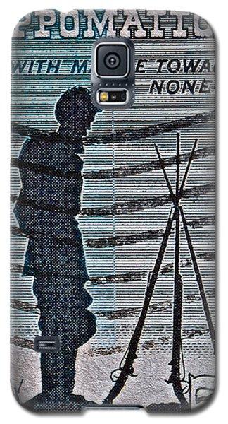 1965 Civil War Centennial Stamp Galaxy S5 Case by Bill Owen