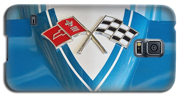 1965 Corvette Flags Emblem Galaxy S5 Case