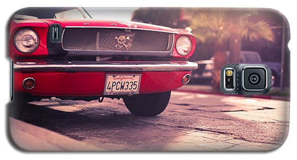 Galaxy S5 Case featuring the photograph 1966 Ford Mustang Convertible by Gianfranco Weiss
