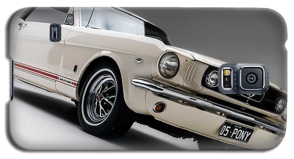 Galaxy S5 Case featuring the photograph 1966 Mustang Gt by Gianfranco Weiss