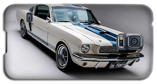 Galaxy S5 Case featuring the photograph 1966 Mustang Gt350 by Gianfranco Weiss