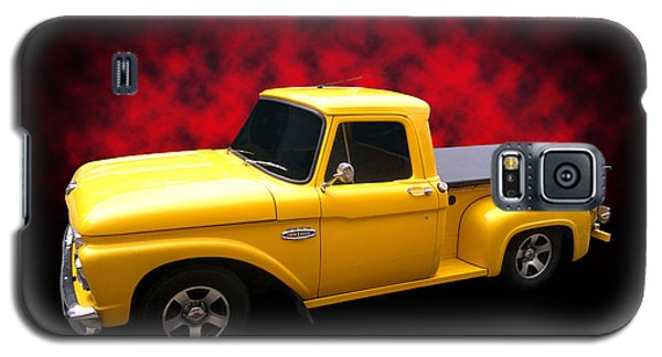 Galaxy S5 Case featuring the photograph 1966 Pickup by Keith Hawley