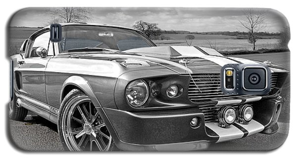 1967 Eleanor Mustang In Black And White Galaxy S5 Case