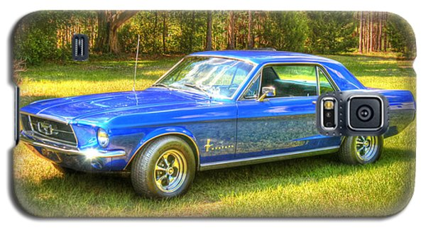 Galaxy S5 Case featuring the photograph 1967 Ford Mustang by Donald Williams