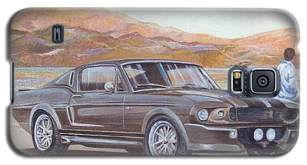 1967 Ford Mustang Fastback Galaxy S5 Case