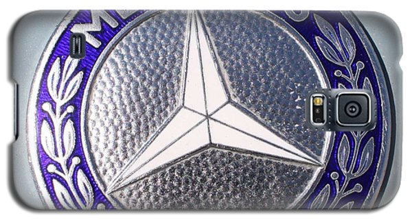 1967 Mercedes Benz Logo Galaxy S5 Case by John Telfer