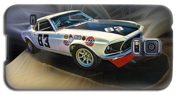 1969 Boss 302 Mustang Galaxy S5 Case