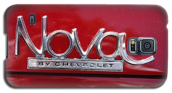 1970 Chevy Nova Logo Galaxy S5 Case by John Telfer