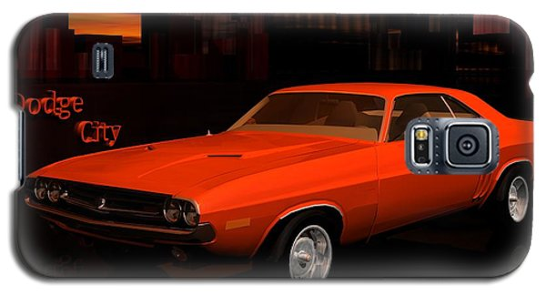 1971 Challenger Galaxy S5 Case by John Pangia
