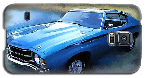 Galaxy S5 Case featuring the painting 1971 Chevy Chevelle by Robert Smith
