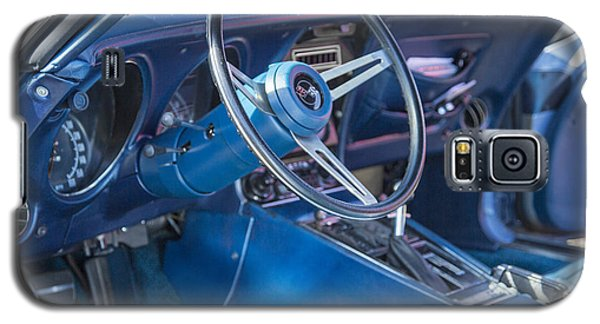 1972 Chevrolet Corvette Stingray Interior Blue 3031.02 Galaxy S5 Case