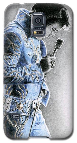 1972 Light Blue Wheat Suit Galaxy S5 Case by Rob De Vries
