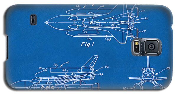 Space Ships Galaxy S5 Case - 1975 Space Shuttle Patent - Blueprint by Nikki Marie Smith