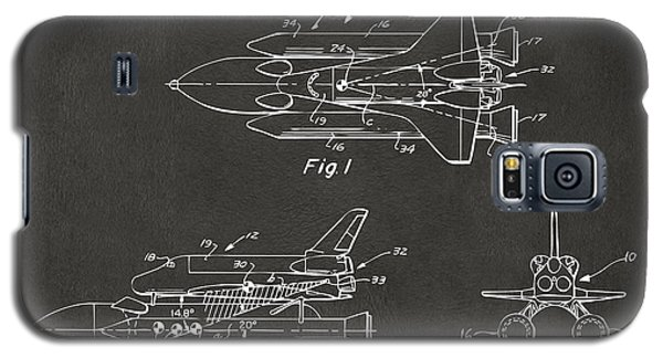 Space Ships Galaxy S5 Case - 1975 Space Shuttle Patent - Gray by Nikki Marie Smith