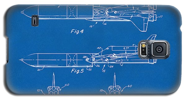 1975 Space Vehicle Patent - Blueprint Galaxy S5 Case by Nikki Marie Smith