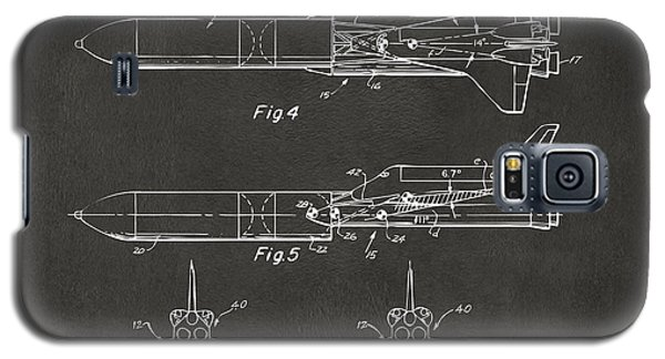 1975 Space Vehicle Patent - Gray Galaxy S5 Case by Nikki Marie Smith