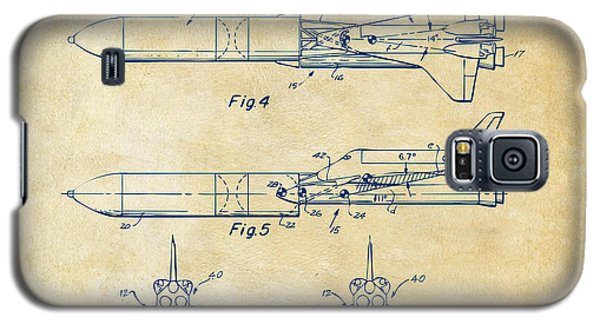1975 Space Vehicle Patent - Vintage Galaxy S5 Case by Nikki Marie Smith