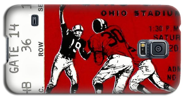 1979 Ohio State Vs Wisconsin Football Ticket Galaxy S5 Case